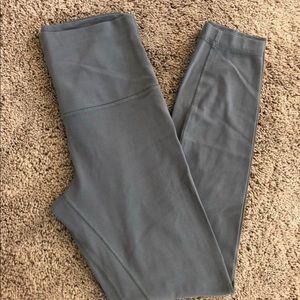 Lululemon Align ll Size 4 Slate Grey